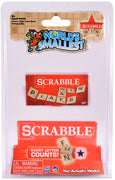 World's Smallest Scrabble in package