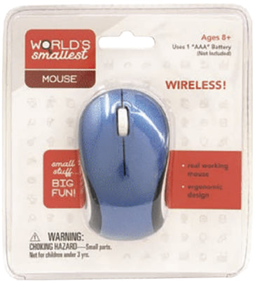 World Smallest Wireless Mouse (by Westminter)