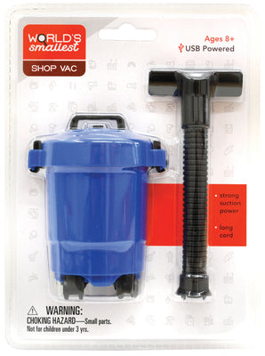 World Smallest Shop Vac (by Westminter) Colors Vary blue