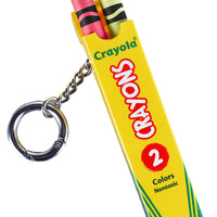 World's Coolest Crayola Crayon Box Keychain unboxed