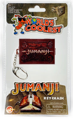 World's Coolest Jumanji Keychain