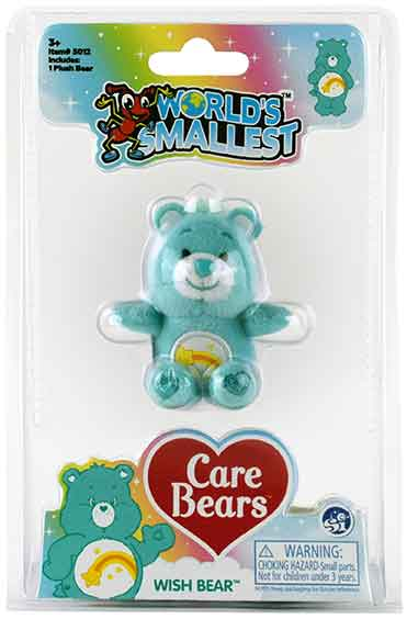 World's Smallest Care Bears Series 2 - Wish Bear