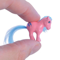World's Smallest My Little Pony in hand
