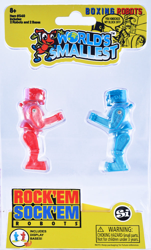 World's Smallest Rock'em Sock'em Robots
