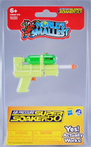 World's Smallest Toys- Super Soaker 50