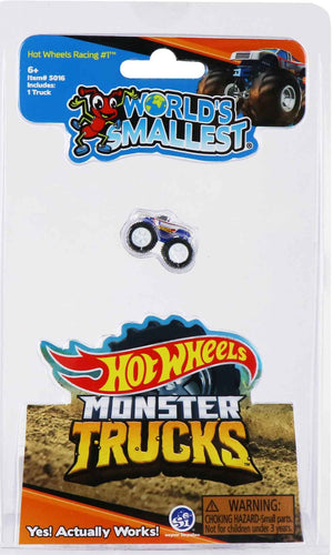 World's Smallest Hot Wheels Monster Trucks (Racing #1)