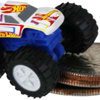 World's Smallest Hot Wheels Monster Trucks (Racing #1) on quarters
