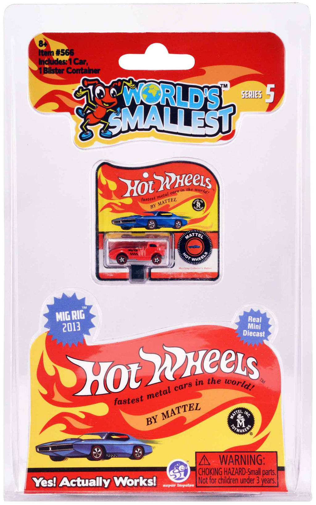 World's Smallest Hot Wheels - Series 5 - Mig Rig 2013