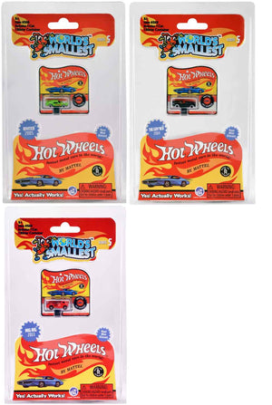 World's Smallest Hot Wheels - Series 5 - (Bundle of 3)