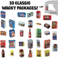 World's Smallest Wacky Packages Minis Series 1 Mystery Pack 33 classics