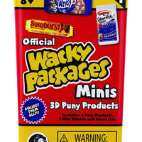 World's Smallest Wacky Packages Minis Series 1 Mystery Pack front