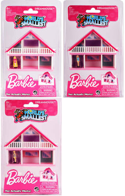 Worlds smallest toys barbie dreamhouse bundle March 2020
