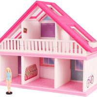 World's Smallest Barbie Dreamhouse  front - Blue Dress