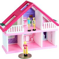 World's Smallest Barbie Dreamhouse - three barbie dolls