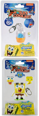 World's Coolest SpongeBob SquarePants (Bundle of 2 Keychains)