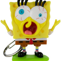 World's Coolest SpongeBob SquarePants Meme Keychain what happened face