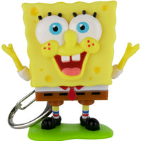 World's Coolest SpongeBob SquarePants Meme Keychain happy face