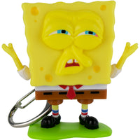 World's Coolest SpongeBob SquarePants Meme Keychain grumpy face