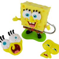 World's Coolest SpongeBob SquarePants Meme Keychain in action