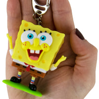 World's Coolest SpongeBob SquarePants Meme Keychain in hand