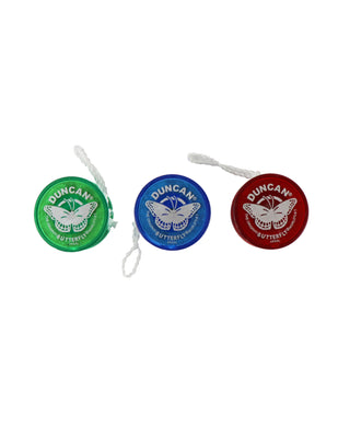 World's Smallest - Duncan Butterfly Yo-Yo (Blue, Red or Green)