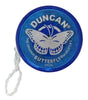 World's Smallest - Duncan Butterfly Yo-Yo (Blue) open