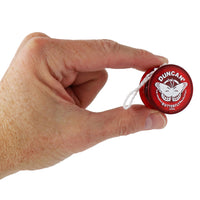 World's Smallest - Duncan Butterfly Yo-Yo (Blue, Red or Green) in hand