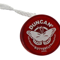 World's Smallest - Duncan Butterfly Yo-Yo (Red)