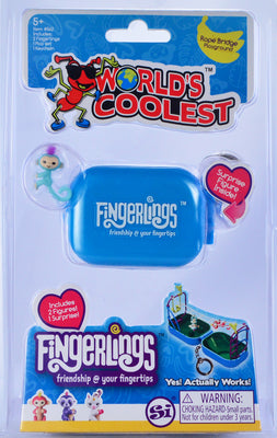 Worlds Coolest Fingerlings - Blue