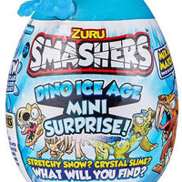 Smashers Dino Ice Age Mini Surprise Egg by ZURU blue in package