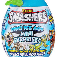 Smashers Dino Ice Age Mini Surprise Egg by ZURU green in package