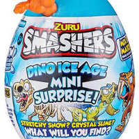 Smashers Dino Ice Age Mini Surprise Egg by ZURU orange in package