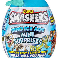Smashers Dino Ice Age Mini Surprise Egg by ZURU turquoise in package
