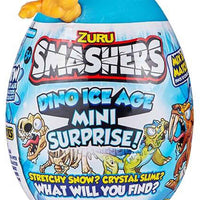 Smashers Dino Ice Age Mini Surprise Egg by ZURU yellow in package