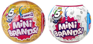 Surprise Mini Brands! Series 1 & 2 Mystery Pack (Bundle of 2)