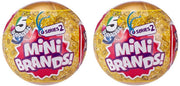 5 Surprise Mini Brands! Series 2 Mystery Pack (Bundle of 2)
