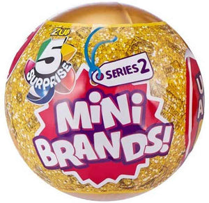 5 Surprise Mini Brands! Series 2 Mystery Pack
