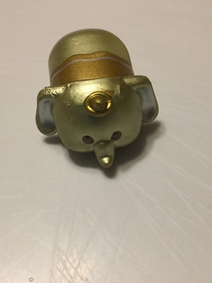 Tsum Tsum Season 8 Medium Gold Dumbo - Rare & hard to find. (Item is Loose)