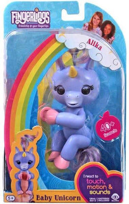 Wow Wee Fingerlings Baby Unicorn Alika (purple)