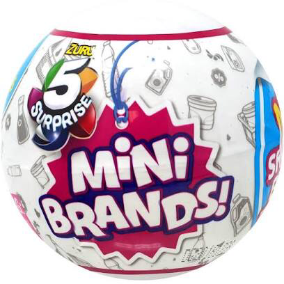 5 Surprise Mini Brands Mystery Pack Preorder Estimated