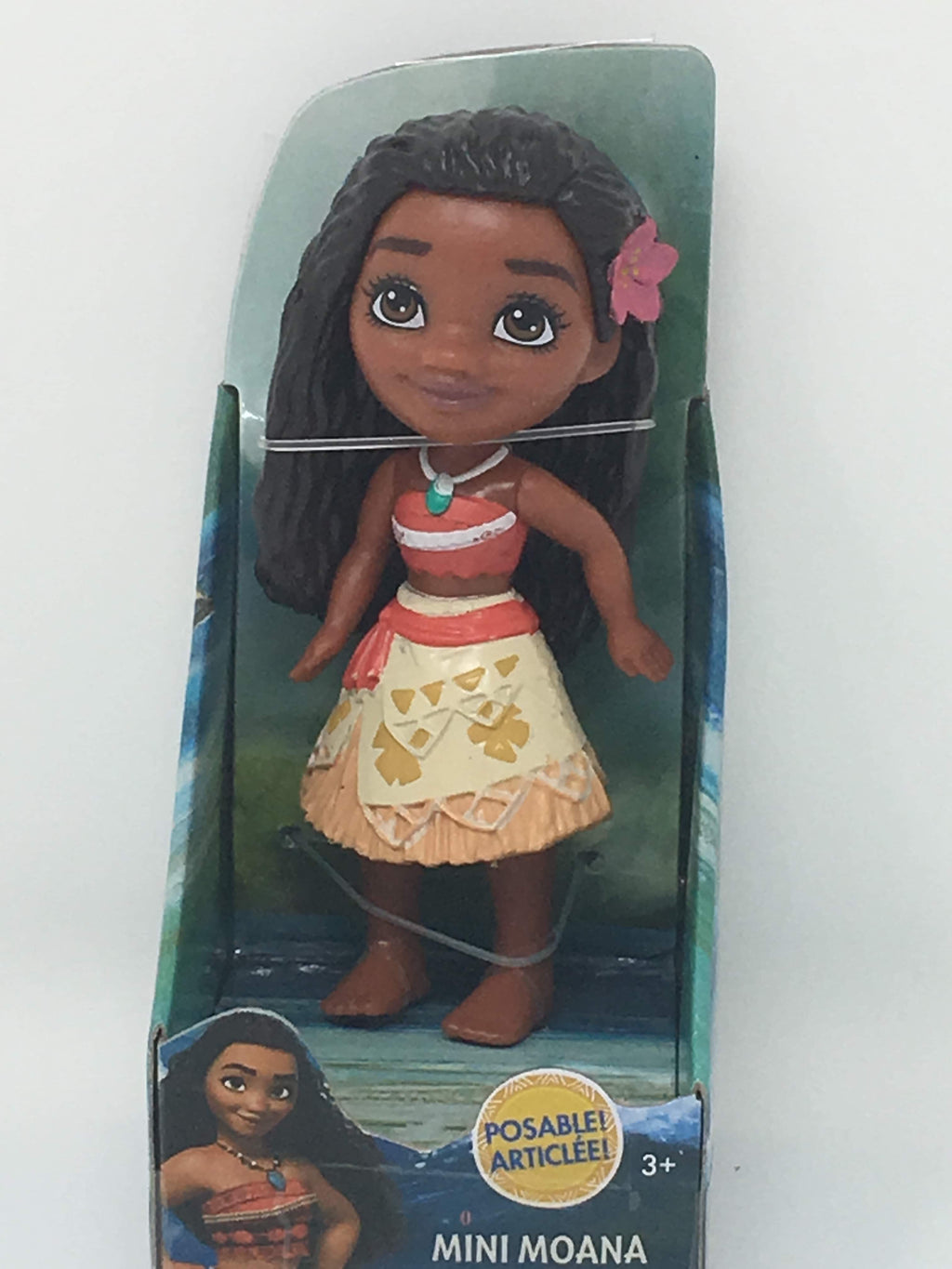 New version Disney Princess Mini Doll - Moana