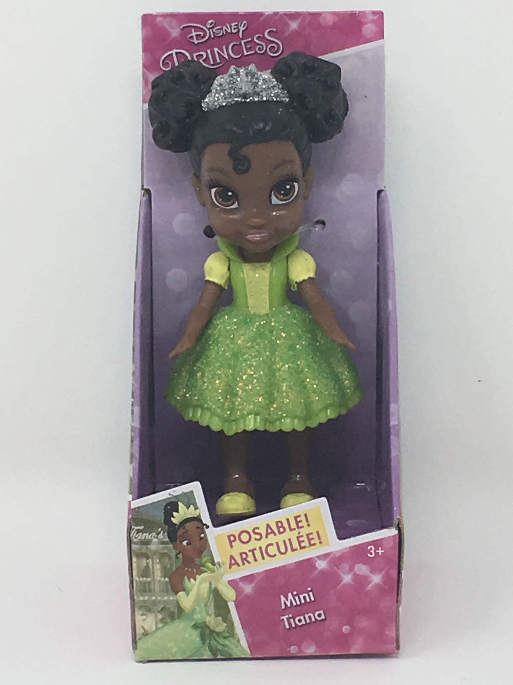 New version Disney Princess Mini Doll - Tiana