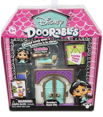 Disney Doorables Series 2 Jasmines's Royal City Mini Display Set