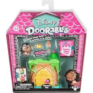 Disney Doorables Moana's Hut Mini Display Set