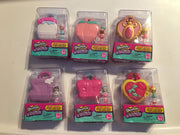 Shopkins Lil Secrets lockets - complete set of 6