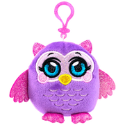 MushMeez Owl Clip-on Plush