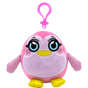 MushMeez Penguin Clip-on Plush
