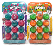 Pop Pops Pets (Blue & Pink) & Pop Pops Snotz (green & orange) bundle