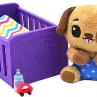 Tiny Tukkins Baby 'n' Crib Mystery Plush Pack doggy