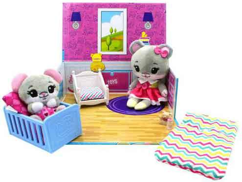 Tiny Tukkins Naptime Nursery Core Pack - Mouse unboxed